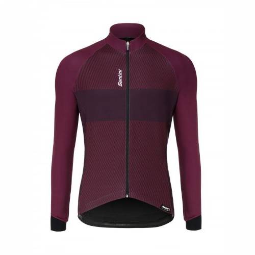 MAJICA SANTINI COLLE THERMAL L/S BORDEAUX, XXXL Cijena