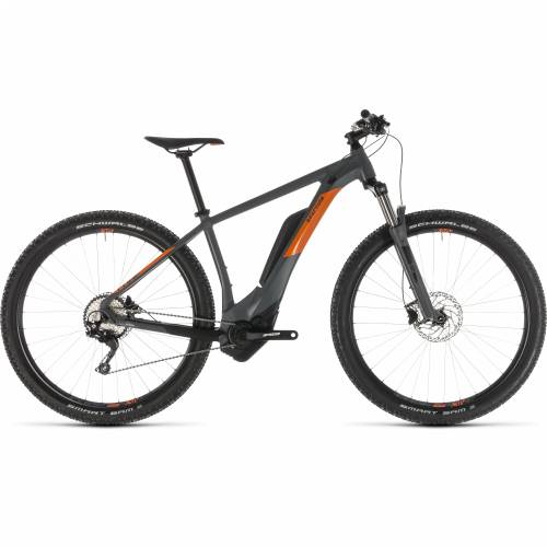 CUBE REACTION HYBRID PRO 500 GREY´N´ORANGE 2019, 16' (27.5') Cijena