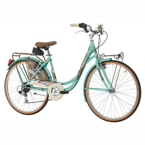 Cinzia 26' DECOVILLE LADY 6B V-brake Mint Green, 44cm Cijena