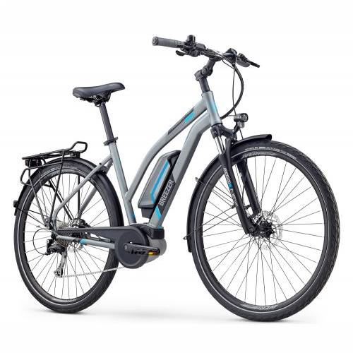 BICIKL BREEZER E-BIKE POWERTRIP + ST 50cm  Satin Dark Gray / 2020 Cijena
