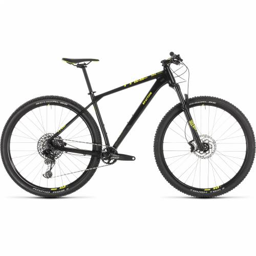 "CUBE REACTION RACE BLACK´N´FLASHYELLOW 2019 15"" - 27.5"" Cijena"