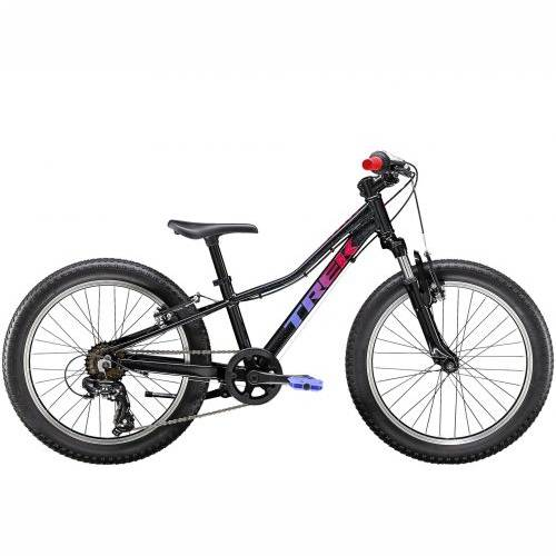 BICIKL TREK KIDS PRECALIBER 20 7SP GIRLS 20 VOODOO TREK BLACK / 2020