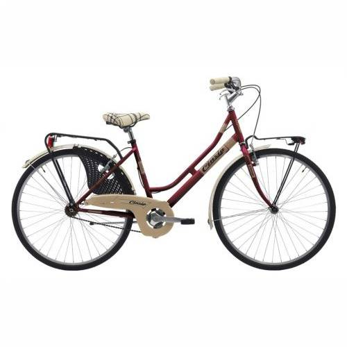 Cinzia 26' FRIENDLY LADY Single speed V-Brake Burgundy, 44cm Cijena