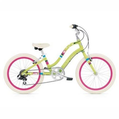 ELECTRA TOWNIE KIDS 7D GREEN 20', 20'
